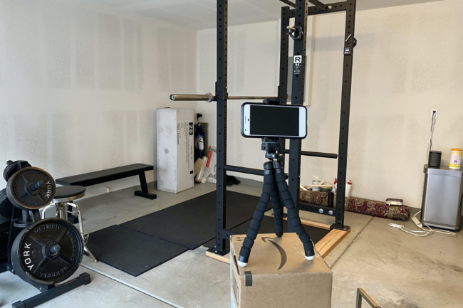 online barbell coaching setup